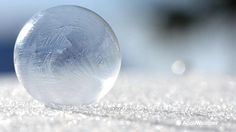 Don't you wish you could see a bubble longer before it popped Here is a fun activity to do in the winter!