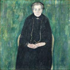 Ritratto di Barbara Floege di Gustav Klimt 1915