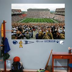 Penn State - Beaver Stadium Mural Decal Sticker Wall Decal at AllPosters.com