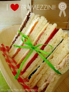 sandwiches - tramezzini