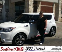 #HappyAnniversary to Donna Ross on your 2014 #Kia #Soul from Don Weintraub  at Southwest KIA Rockwall!