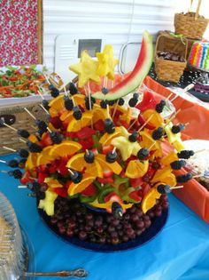 creating sweet and savoury this idea is a great one, On this particular item, I would peel the oranges first.