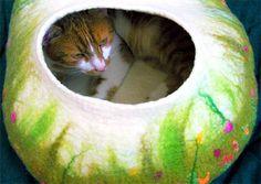 Fler MAG: Plstěný kočičí pelíšek