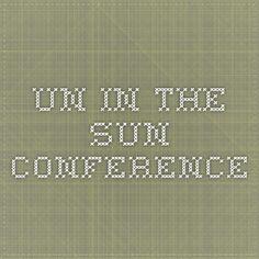 Un in the Sun Conference