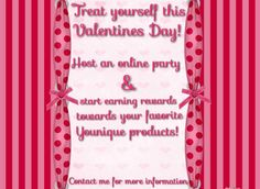 """Do you need some new makeup??  Host a *qualifying online party with me and get it FREE!  Every Hostess that has a *qualifying party this month with me will also get a 3D Fiber Lash Mascara as a Hostess gift!!!  Book and start your Younique party today at www.youniqueproducts.com/emilywintle  The online party will be held in a """"group """" format on FB.  All you need to do is invite friends!"""
