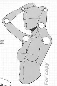 キャラクターをつくろう! 少女イラスト見本帖,制服コレクション編 Manga Basic Pose 54
