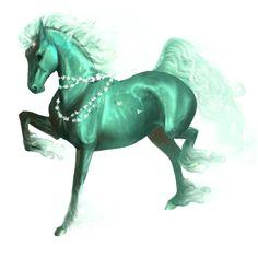Jade, Unicorn Purebred Spanish Horse Black #27922739 - Howrse
