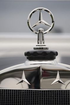1928 Mercedes-benz S Murphy Speedster Hood Ornament Photograph by Jill Reger Mb Logo, Car Badges, Classic Mercedes, Mercedes Benz Logo, Benz S, Hood Ornaments, Cars And Motorcycles, Classic Cars, Logos