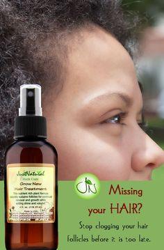 Fighting Hair Loss Natural Way
