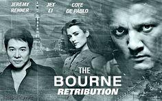 The Bourne Retribution - Jeremy Renner. Jet Li. Cote De Pablo. From The Films That Never Were. https://www.facebook.com/Shadrachart