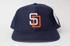 Vintage 90 s San Diego Padres Snapback - Deadstock - NWT 57234a8c7369