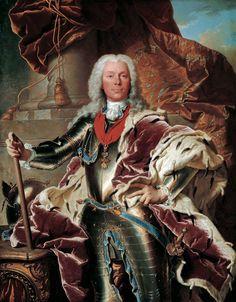 Iasent Rigaud - Portrait of Prince Joseph Wenzel von Liechtenstein (1696-1772)