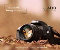 Capture your precious moments with #clado Rent Photography Equipment at http://www.clado.in/cameras Rentals starting from Rs.600/day