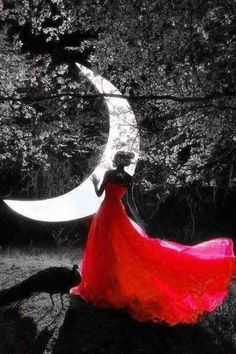 Wall paper preto e branco lua trendy Ideas Splash Photography, Landscape Photography Tips, Art Photography, Color Splash, Color Pop, Black And White Landscape, Moon Pictures, Beautiful Moon, Moon Goddess