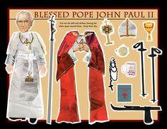 Making these! magnetic saints and popes Catholic Crafts, Catholic Kids, Catholic Homeschooling, Harley Davidson V Rod, Papercraft Anime, Papa Juan Pablo Ii, Faith Crafts, Infant Of Prague, Catholic Religion