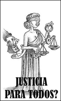 Ohh...¿La Justicia es ciega?