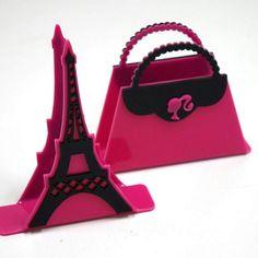 Festa de menina #paris #portaguardanapo