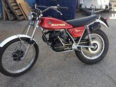 Bultaco Motorcycles, Vintage Motocross, Bmw, Motorcycle Engine, Vintage Bikes, Trials, Honda, Scrambler, Vehicles