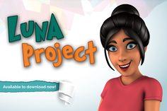 Luna female character Rig for Autodesk Maya Free Download,Luna rig
