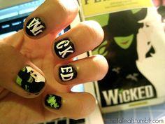 Wicked nail art