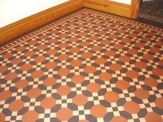 Victorian Floor Tile Warwick Pattern