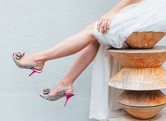 multi-color charm heels from kate spade
