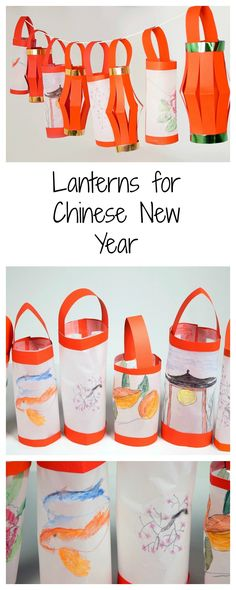 These beautiful lanterns are easy to make and a fun way to celebrate Chinese New Year #LearningIsFun
