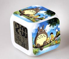 Back To Search Resultstoys & Hobbies Beautiful Fashion Children Despertador Flash Anime Saat Action Figure Alarm Clocks Cartoon Color Changing Digital Clock Kids Toys 8cm
