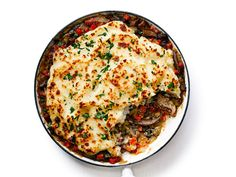 One-Pan Portabella Mushroom Shepherd's Pie   Leftover Thanksgiving mashed potatoes make it easy to whip up shepherd's pie on a weeknight. This vegetarian version is as hearty as the beefy original, thanks to meaty portabella mushrooms, but you could throw in leftover turkey if you want. Wine pairing: Joseph Jewell 2014 Pinot Noir (Humboldt County; $32).