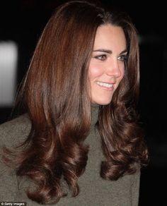Kate's hair is beautiful.