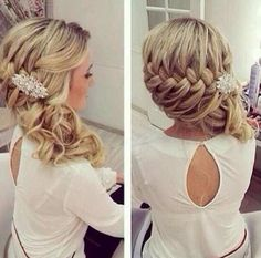 Love this hair style idea