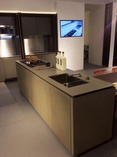 Cucina Maistri  in Cementina , nello show-room di Actualspottimilano.