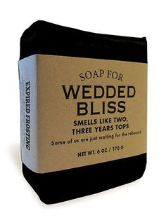Smells like two, three years tops. But hey! We're talking about two or three totally awesome years. After that you can just keep hanging around each other like bored zombies batting children out of th Whiskey River Soap, Wedding Humor, Zombie Wedding, Rebounding, Soap Making, Hand Making, Looks Cool, Just For Laughs, The Funny