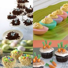 Easter Party Snacks and Treats