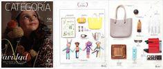 """Compras Íntima O bag en la """"Revista Categoría"""" del Centro Comercial Oviedo (Medellín, Colombia), Número 90 - Diciembre 2015  www.Obag.com.co"""