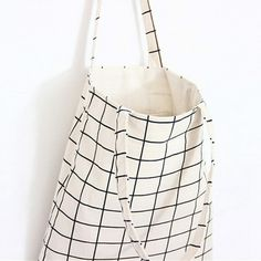 48cddbb254 Plaid Canvas Tote Casual Beach Bags Large Capacity Women Shopping Bag Daily  Use Canvas Handbags Bolsa Shoulder Bag