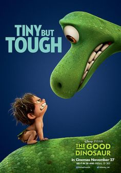 "The Good Dinosaur. It's like ""The Croods"" and ""Land Before Time"" mashed together. So want to see this movie."