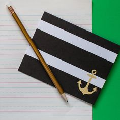 Anchor Note Card Set by CJayneTeach on Etsy, $18.00