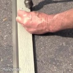 Doorstop is made with built-in weatherstripping, specifically for garage doors. Learn how to do garage door weather stripping. Garage Door Maintenance, Garage Door Repair, Garage Door Opener, Garage Door Bottom Seal, Overhead Garage Door, Garage Doors, Barn Doors, Sliding Doors, Garage Door Weather Stripping