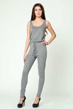 Easy Sleeveless Jumpsuit