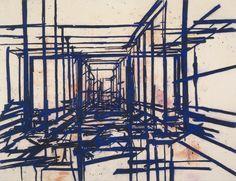 Tony Bevan Painting Corridors PC0612
