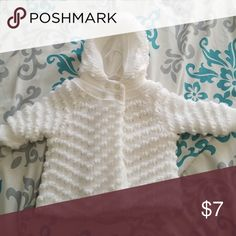 White Sweater Very thick Specialty Baby Sweaters