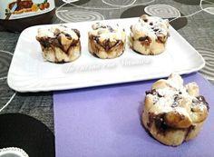 Brioscine alla nutella - Veronica 's cook & Veronica, Biscotti, Nutella, Sweet Recipes, French Toast, Muffin, Cooking, Breakfast, Food