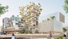 Hypérion: the wooden tower designed by Jean-Paul Viguier & Associés…