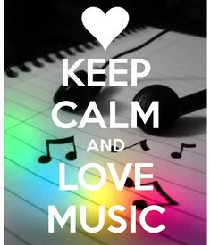 KEEP CALM AND LOVE MUSIC. Another original poster design created with the Keep Calm-o-matic. Buy this design or create your own original Keep Calm design now. Frases Keep Calm, Keep Calm Quotes, Keep Calm Bilder, Keep Calm Wallpaper, Keep Calm Pictures, Keep Clam, Vie Positive, Keep Calm Signs, Inspirational Quotes