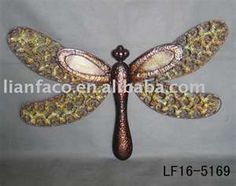 dragonfly Decor Metal dragonfly products, buy Wall decor dragonfly ...