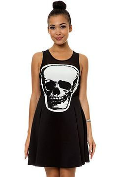 The Skull Mesh Dress in Black by Reverse use rep code: OLIVE for 20% off!