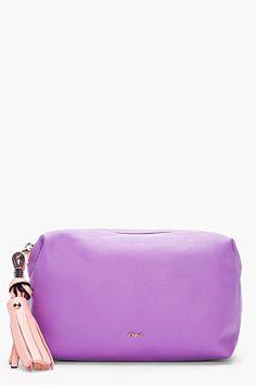 Chloé Violet Cosmetic Case
