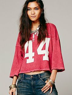 Free People We The Free Touch Down Crop
