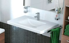 REUTER Shop recommends: Ideal Standard Connect Freedom washbasin with overflow ✓ with Best Price Guarantee.
